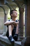 заботливое мальчика подростковое Стоковое Фото