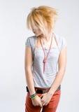 заботливое девушки подростковое Стоковые Изображения RF