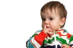 Заботливый малыш стоковое изображение rf
