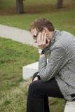 Заботливый молодой человек Стоковая Фотография
