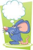 Заботливая мышь иллюстрация вектора