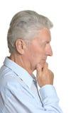 заботливое человека старшее Стоковые Изображения