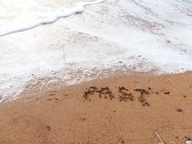 Забудьте прошлый Стоковые Изображения