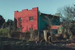 забытая дом стоковая фотография