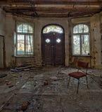 Забытый вековой особняк. Gdańsk - Польша. Стоковые Фото