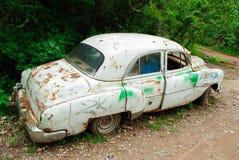 Забытый автомобиль стоковые фотографии rf