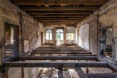 Забытый вековой особняк. Гданьск - Польша. Стоковые Фотографии RF
