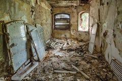 Забытый вековой особняк. Гданьск - Польша Стоковая Фотография RF