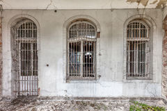 Забытый вековой особняк. Гданьск - Польша Стоковое Фото