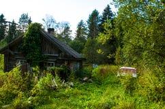 Забытый старый дом Стоковое фото RF