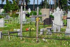 Забыл ваши могилы Стоковые Фото