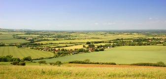 завальцовка сельской местности английская Стоковая Фотография RF