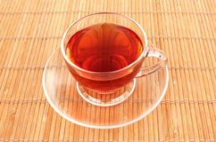 заваренный свеже травяной чай Стоковые Фото
