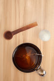заваренный чай чашки Стоковая Фотография