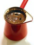 заваренный turkish кофе свеже Стоковые Фото
