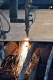 заварка газа вырезывания Стоковые Изображения RF