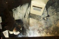 заварка металла стоковое фото rf
