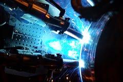 Заварка трубопровода Стоковые Фотографии RF