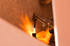 Заварка Steel-1 Стоковая Фотография RF
