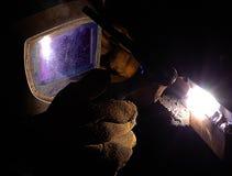 заварка tig Стоковое фото RF