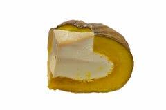 Заварной крем в тыкве, заварной крем яичка тыквы Стоковые Фотографии RF