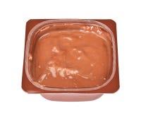 Заварной крем шоколада стоковое фото rf