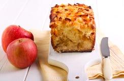 Завалка Яблока и торт чая отбензинивания яблока Стоковые Фото