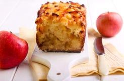 Завалка Яблока и торт чая отбензинивания яблока Стоковые Фотографии RF
