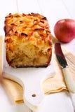 Завалка Яблока и торт чая отбензинивания яблока Стоковые Изображения
