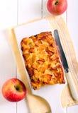 Завалка Яблока и торт чая отбензинивания яблока Стоковая Фотография RF