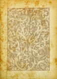 заверните сбор винограда в бумагу текстуры Стоковое фото RF