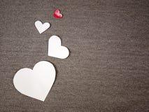 Заверните сердца в бумагу Стоковая Фотография