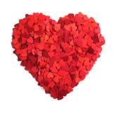 Заверните сердце в бумагу Стоковые Фотографии RF