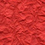 заверните струят красный цвет, котор в бумагу Стоковое Фото