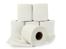 заверните туалет в бумагу Стоковое Изображение