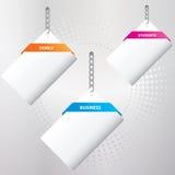 заверните установленные специальные бирки в бумагу Стоковое Фото