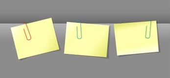 Завертывает связь в бумагу с бумажными зажимами Стоковые Изображения RF