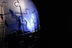завершенный зигзаг глобуса Стоковая Фотография RF