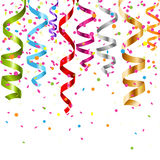 завивая multicolor поток Стоковая Фотография RF