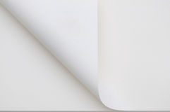 завитая бумага Стоковые Изображения RF