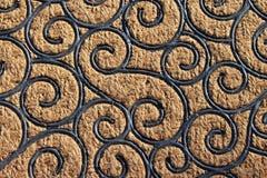 Завитые линии текстура предпосылки Стоковые Фото
