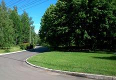 Завитый путь Стоковое фото RF