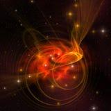 завихряться галактики Стоковые Изображения