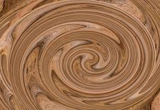 Завихряться предпосылки цвет водоворота коричневой расплавленный текстурой cream естественный стоковое изображение