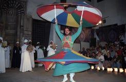 завихряться sufi Египета dervish Каира Стоковое фото RF