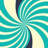 Завихряясь радиальная предпосылка иллюстрация вектора