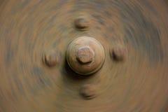 Завихряясь ржавый диск с узлами для предпосылки Стоковое Изображение RF