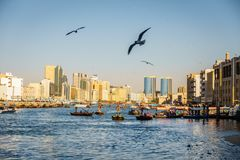 заводь Дубай стоковое изображение