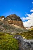 Заводь и гора Стоковая Фотография RF