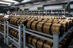 завод автоматизированной фабрики самомоднейший Стоковое Фото